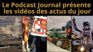Les actualités en 4 vidéos du 19 janvier 2015