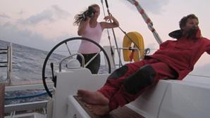 La traversée de l'Atlantique en bateau stop. Photo (c) Florence Renault