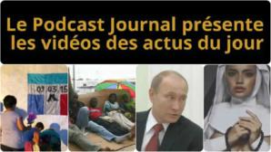 Les actualités en 4 vidéos du 13 mars 2015