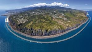La future route en corniche ou route du littoral. (c) DR