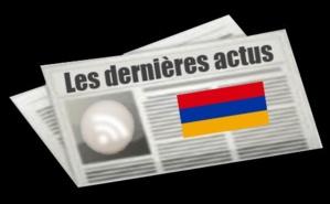 Les dernières actus d'Arménie