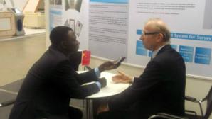 Avec Gérard Payen au cours de l'entretien au 7e FME. Photo (c) DR