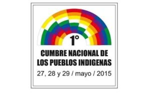 Affiche du sommet national des peuples indigènes