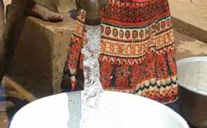 La fourniture du service public continu de l'eau aux populations est encore un défi pour les communes. Photo (c) SBphoto