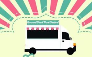 Affiche du Gourmet Food Truck Festival, du 8 juin au 12 septembre 2015 à Paris.