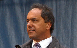 Daniel Scioli. Photo (c)  Presidencia de la Nación Argentina