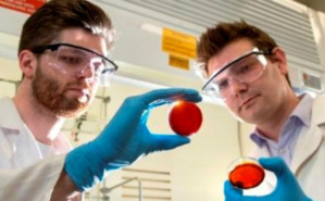 Dr Chalker et un étudiant (c) Flinders University. Cliquez ici pour accéder au site