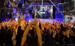 Quelques milliers de joueurs réunis autour d'un jeu phare de cette fin d'année. Photo courtoisie (c) Paris Game Week