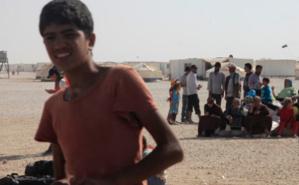 Des réfugiés syriens dans le camp de Zaatari en Jordanie. Photo (c) Russell Watkins / Department for International Development