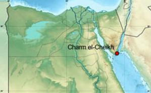 Charm el-Cheikh sur la carte. (c) Eric Gaba et NordNordWest