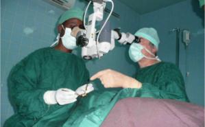 Dr Grollumund rêve d'un hôpital ophtalmologique au Burkina Faso. Photo (c) JEREMI