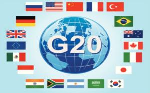 Sommet du G20, qui regroupe les plus grandes puissances économiques mondiales, s'est ouvert dimanche 15 novembre à Antalya en Turquie. Image libre de droit