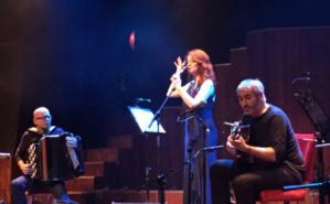 Dorsaf Hamdani sur la scène du Music Hall à Beyrouth. Photo (c) Rima Ayoub