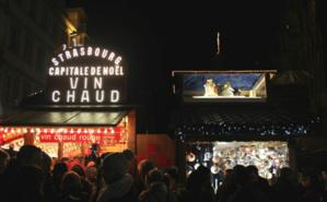 Le marché de Noël de Strasbourg accueille chaque année plus de deux millions de visiteurs. Photo (c) Sarah Belnez