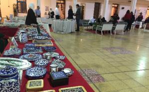 Objets décoratifs palestiniens en céramique. Photo (c) Bulent Inan.