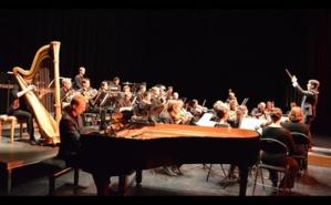 Samuel Fernandez se lance dans la direction d'orchestre. Photo (c) M. Marchand-Moury