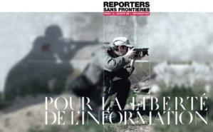 Cliquez ici pour accéder au site de Reporters sans frontières. Photo © RSF
