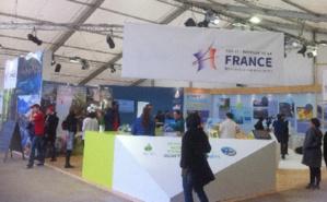 Le stand de la France, à l'entrée de l'espace. Photo © LLF