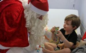 Noël magique est une chaîne de solidarité. Photo (c): Noël magique.