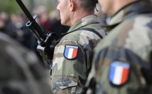 Les trois militaires réservistes ont souhaité garder l'anonymat afin de respecter les règles de l'Etat Major du Grand-Est. Photo (c) David Ademas.