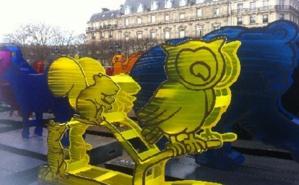 Les animaux ont parcouru la France. Photo (c) LLF
