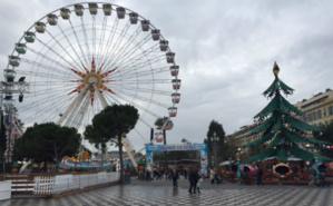 Entrée du village de Noël de Nice. Photo (c) Rima Ayoub