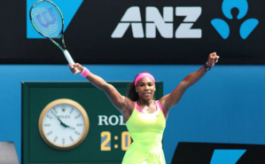 L'immense Serena Williams remporte son 19e titre en grand chelem à Melbourne. Photo (c) Tourism Victoria