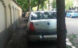 Les piétons roumains méritent des trottoirs libres