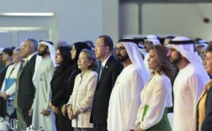 Ouverture de la réunion du Groupe de haut niveau sur le financement humanitaire de l'ONU. Photo (c) Mark Garten / UN