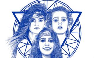Les filles au Moyen-Âge: l'affiche du film (image partielle)