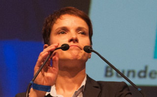 La présidente de l'AFD Frauke Petry. Photo (c) Olaf Kosinsky