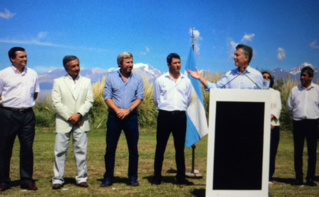 Le président Mauricio Macri a annoncé sa nouvelle mesure à San Juan. Photo (c) Casa Rosada