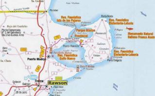 Une situation idéale, pour des excursions extraordinaires. Carte (c) Douglas Fernandes