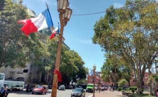 Buenos Aires se prépare à la venue de François Hollande. Photo (c) Marie-Rachel Aparis