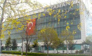 Siège social du journal Zaman à Istanbul. Image du domaine public.