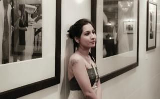 Ema Shah au Festival international du film de Dubaï en 2011. Photo (c) Tony Marc.