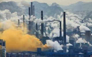 Une entreprise à Benxi, Chine. Image du domaine public.