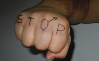 Lutte contre la violence faite aux femmes. Photo (c) Naima Ait Ahcene