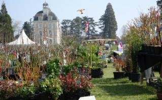 La fête des plantes au Château de Cheverny. Photo (c) A. Hubert
