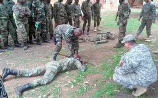 Formation et entrainement anti-terrorisme au Burkina Faso. Photo (c) U.S. Army Africa