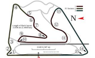 Schéma du circuit de Barein. Illustration (c) Will Pittenger