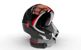 Le casque Alpha. Cliquez ici pour accéder au site de Golem Innovation