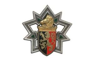 Insigne régimentaire du 3e Régiment du Génie. Image du domaine public.