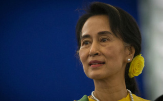 Aung San Suu Kyi. Photo (c) Claude Truong Ngoc