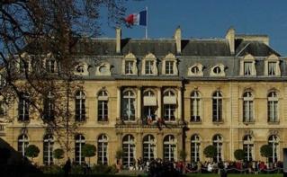 Palais de l'Élysée, résidence du président de la République française. Photo (c) Pang-Hung Liu.