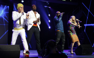 Les Black Eyed Peas en 2011. Photo (c) Walmart