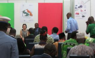 Conférence sur le développemet des filières à la Chambre d'agriculture. Photo (c) Florence Esther