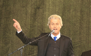 """La victoire du """"Non"""", une véritable victoire pour le leader d'extrême droite, Geert Wilders. Photo (c) Metropolitico"""