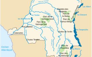 Carte des parcs en RDC (c) Aliesin