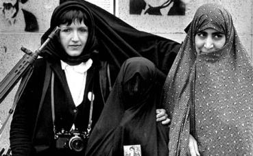 Christine Spengler en Iran, 1979. Photo (c) Sylvain Julienne